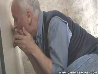 large cock throughout the gloryhole